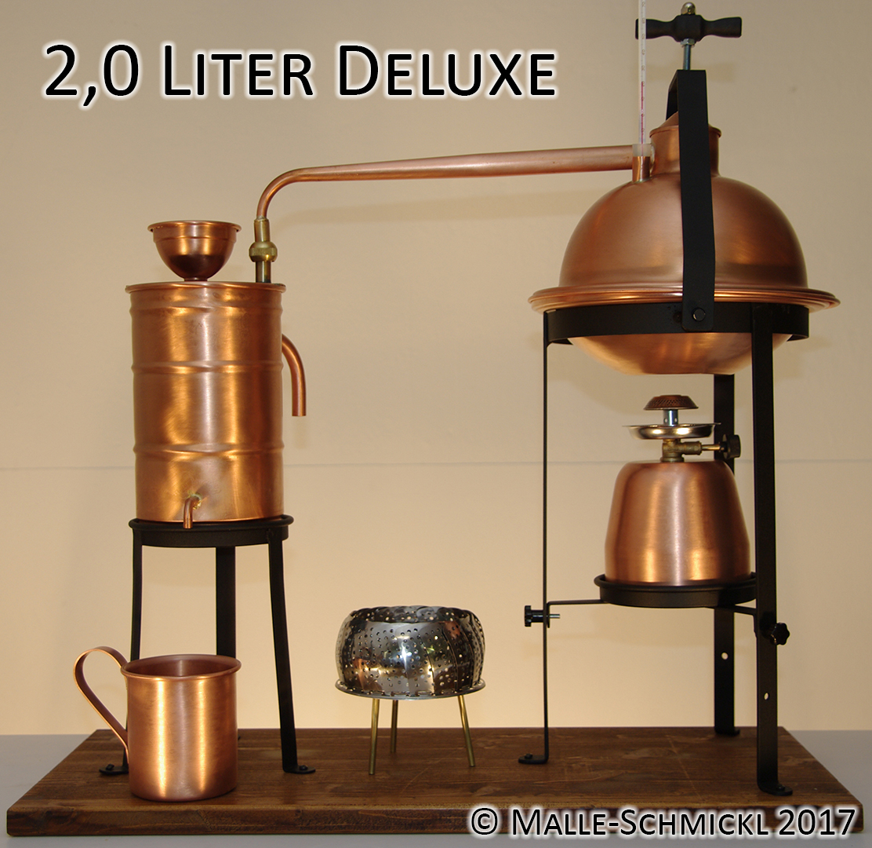 Destille DELUXE, 2 Liter