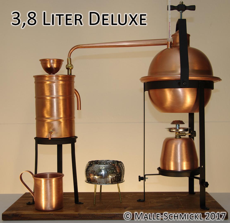 Destille DELUXE, 3,8 Liter