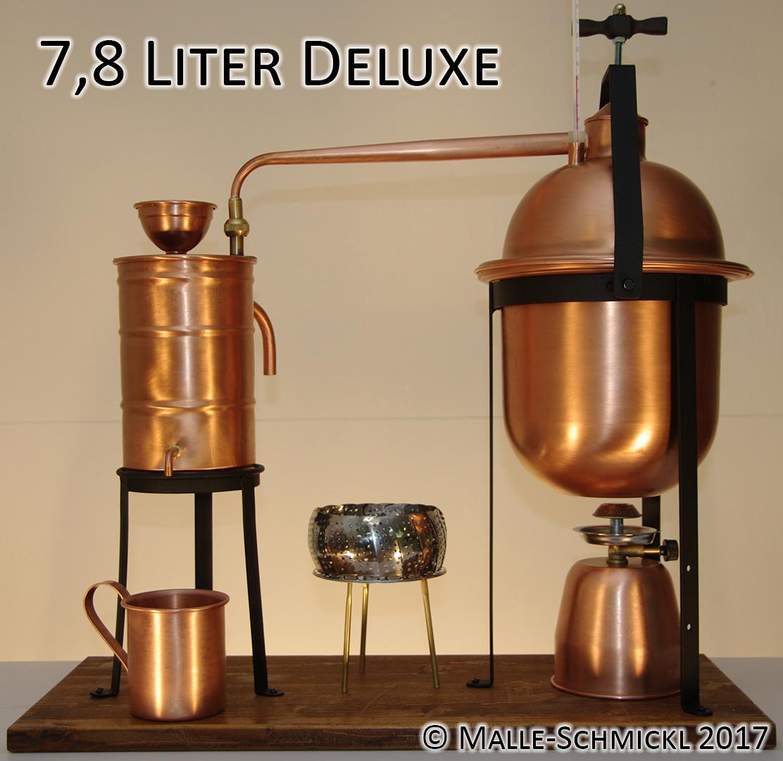 Destille DELUXE, 7,8 Liter