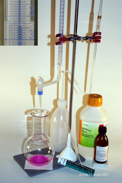 Essigssäureanalyse-Set