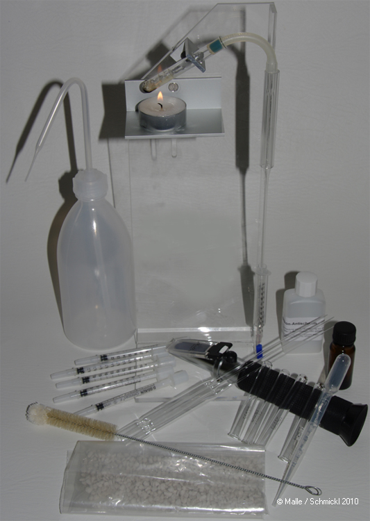 Alkoholanalyse-Set
