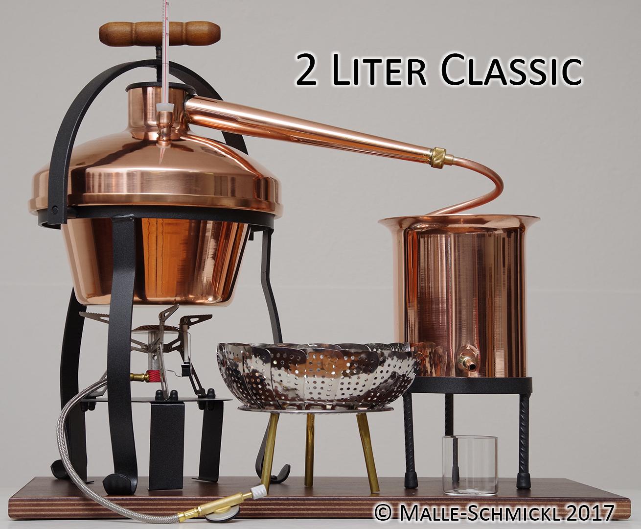 Brennanlage CLASSIC, 2 Liter