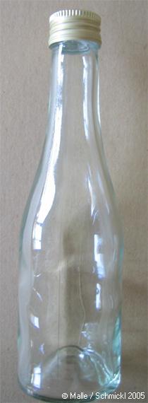 Klarglasflasche 200 ml