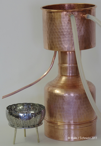Destille LEONARDO® Grande, 2 Liter & 6,5 l Pflanzenmaterial
