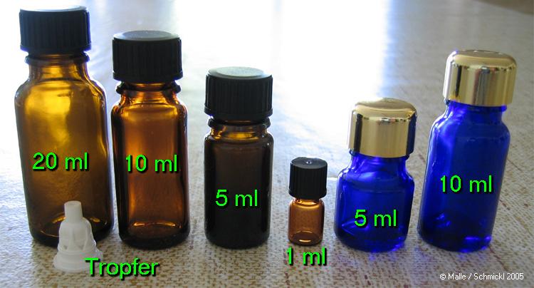Blauglasflasche 5ml