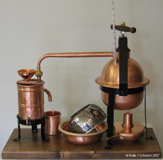 Brennanlage PICCOLO (0,5 und 1,0 Liter)