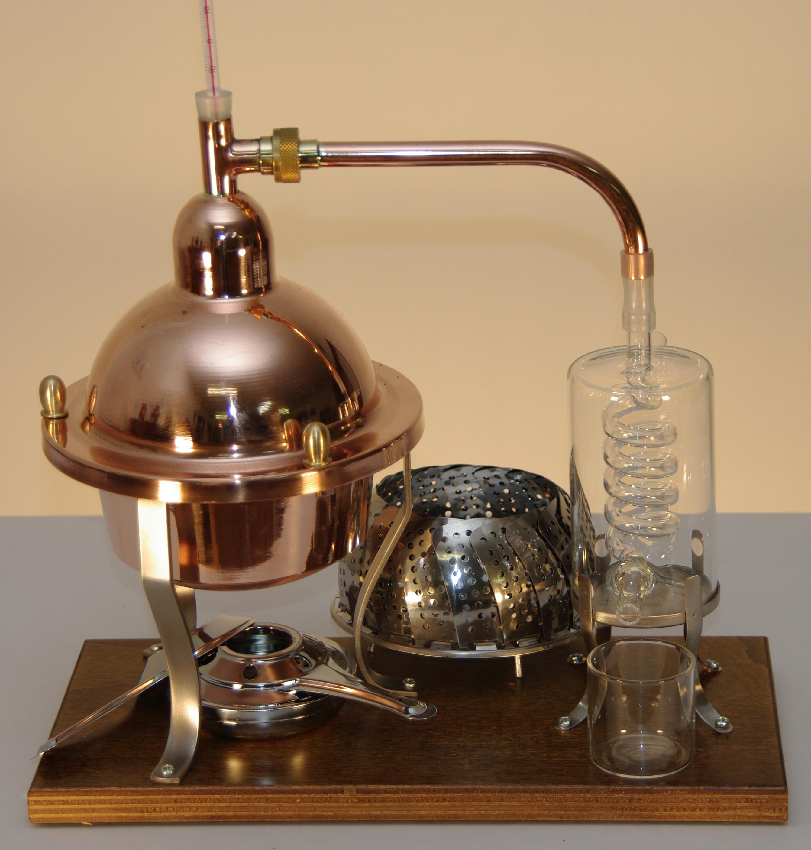 Brennanlage VETRO, 1 Liter