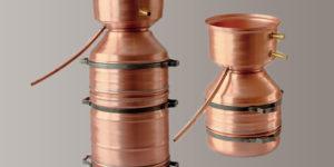 Destille LEONARDO® Flexi, 2 Liter & 5 l / 12 l Pflanzenmaterial