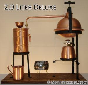 Destille Deluxe 2 Liter: Malle-Schmickl