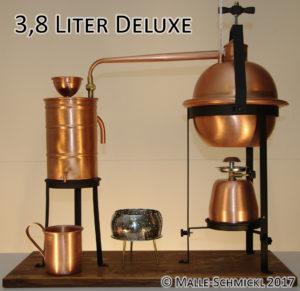 Destille Deluxe 3,8 Liter: Malle-Schmickl