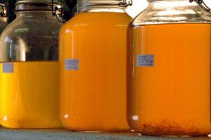 Orangenessig (1 Monat), Märzenbieressig, Zwicklbieressig