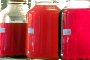 Wacholderessig, Weißbieressig (dunkles Weißbier), Orangenessig (1 Jahr)