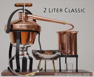 Brennanlage Classic 2-Liter